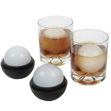 3.1 Inch 3D Silicone Ice Ball Round Ice Cube Mold Tray Sphere Desert Mould F2G3