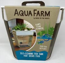 Aqua Farm Self Cleaning Fish Tank Grows Food Fish Mini Aquaponic Beta Tank