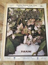 The Garden Magazine. January 1912. Good Condition. Home Publication. Antique