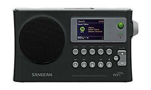 Sangean WFR-28 Internet Radio / FM-RBDS / USB / Network Music Player Digital ...
