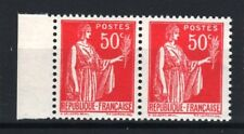 """FRANCE STAMP TIMBRE 283 s """" PAIX 50c FAUX DE BARCELONE PAIRE """" NEUF xx LUXE R761"""