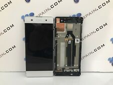 PANTALLA REPUESTO ORIGINAL SONY XPERIA XA BLANCO LCD F3111 DESMONTAJE envio 24H