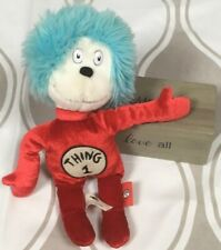 Dr Seuss Cat In The Hat Thing 1 Plush Doll Collection