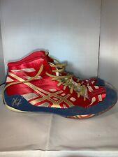 Size 7.5 ASICS Wrestling Shoes - Jordan Burroughs - Preowned