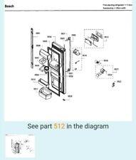 Bosch Refrigerator Display Board 11016059