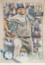 2018 GYPSY QUEEN JASON VARGAS P ROYALS #45 LOGO SWAP SSP