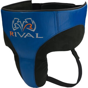 RIVAL Boxing RNFL10 Pro 360 No Foul Groin Protector - Black/Blue