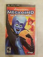 Megamind  The Blue Defender  Sony PSP  2010  Complete FREE S/H