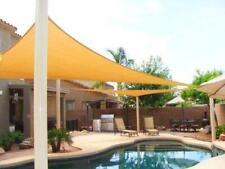 Big 20'x20'x20' Oversized Triangle Garden Patio Sun Sail Shade 20 ft, Color