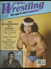 The Ring's Wrestling Magazine - February 1983 - Jimmy 'Superfly' Snuka