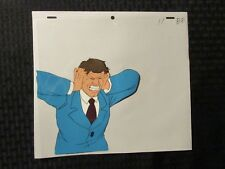 Real Ghostbusters Cartoon Animation Cel & Pencil Drawing 11 B-8 Freak Out