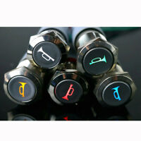 16mm LED Momentary Push Button Metal Switch Car Boat Speaker Bell Horn 2019 Hot