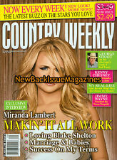 Country Weekly 6/09,Miranda Lambert,June 2009,NEW