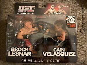 Cain Velasquez VS Brock Lesnar UFC Round 5 Versus 2 Exclusive 2 Pack Figure MINT