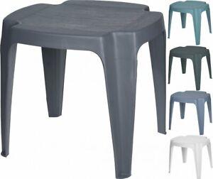 Gartenhocker Hocker  Beistelltisch Stuhl Sitz  Kunststoff Variation