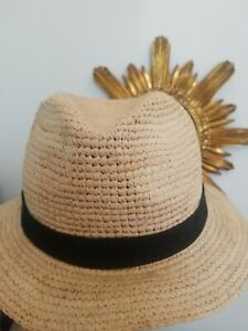 J Crew Packable straw hat