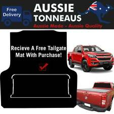 Rubber Ute Mat for Holden Colorado RG Dual Cab  -  July 2012 to Current