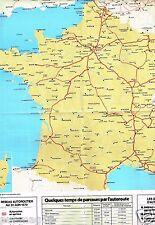 Coupure de presse 1979 (Poster) Les Autoroutes de France