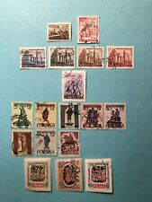 28 DIFFERENT SETS FROM POLAND - ULH - #471 / #1230