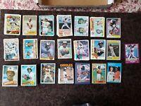 1980-88 Baseball Eddie Murray 109-card lot - Baltimore Orioles Legend