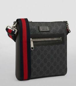 NR $1100 Gucci Small GG Supreme Cross-Body Messenger Bag