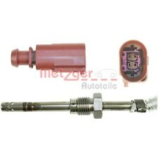 1 Sensor, temp. gas escape METZGER 0894058 genuine AUDI