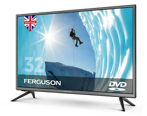 """FERGUSON 32"""" INCH TV LED FREEVIEW HD BUILT-IN DVD PLAYER, MINOR SCREEN DEFECT"""
