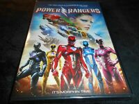 Power Rangers  *BRAND NEW/FREE SHIPPING!* (Saban's/DVD/2017)