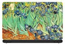 15.6 inch Van Gogh-Irises-Laptop/Vinyl Skin/Decal/Sticker/Cover-VG01