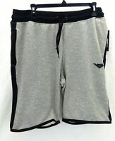 Pony Mens Gray and Black Lounge Shorts with Elastic Waist Size Small MSRP $36