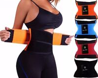 Men&Women Hot Power Slimming Belt Body Shaper Waist Training Corset Fat Burning