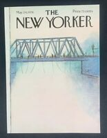 COVER ONLY ~ The New Yorker Magazine, May 24, 1976 ~ Arthur Getz
