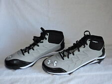 Under Armour Heater Mid St Men's Baseball Cleats - Size 12.5 (1248197-020)