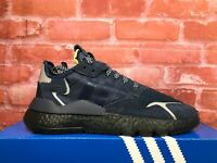 ADIDAS NITE JOGGER 3M BOOST NAVY BLACK EE5858 MEN'S RUNNING SHOES REFLECTIVE