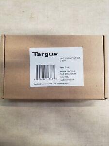 Targus Docking Station - for Notebook - 100 W - USB Type C - 3 x USB DOCK419USZ