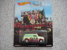HOT WHEELS THE BEATLES ALBUM COVER 1967 AUSTIN MINI VAN REAL RIDERS POP CULTURE