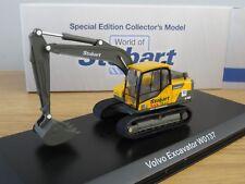 ATLAS EDDIE STOBART RAIL VOLVO EC140D EXCAVATOR DIGGER MODEL JV4124 1:76