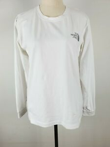 The North Face Long Sleeve Shirt White Size Men's Small