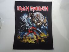 IRON MAIDEN NUMBER OF THE BEAST PRINTED BACK PATCH