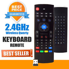 Wireless Keyboard Remote RC Fly Air Mouse for M8 Kodi MXQ H96 X96 Android TV Box