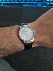 *MINT* BVLGARI Solotempo ST 35 S Quartz Dress watch Swiss Made Unisex 35mm RARE