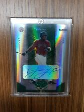 2004 DAVID ORTIZ LEAF CERTIFIED MIRROR EMERALD GREEN MARBLE AUTO AUTOGRAPH 5/5
