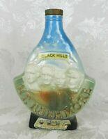 Vtg 1969 Jim Beam Decanter Bottle Mount Rushmore Black Hills South Dakota Empty