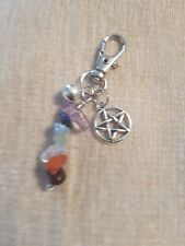 Reiki Cat Collar Charm with Bell (Anxiety Mix)