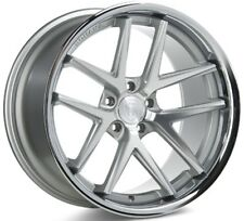 Rohana 19x8.5  RC9 5x114 +35 Machine Silver Rims (Set of 4)