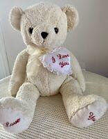 Teddy Bear, I love You, Heart, 46cm Tall (18') NEW