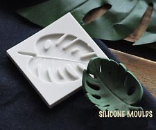 Monstera Leaf Silicone Gumpaste Mold Fondant Cake Chocolate Polymer Clay Mould