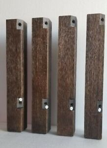 """NEW! 17"""" Set of four! Coffee Table Legs (ONLY) Solid Wood Ashley Furniture"""