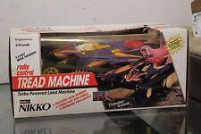 Vintage NIKKO Radio Control Tread Machine Tank #14474 BOXED