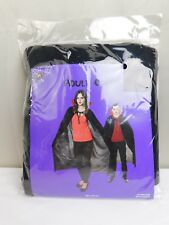 Halloween Adult Vampire Cape Black One Size Fits Most